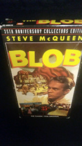 Very rare vhs blob collectors edition starring steve mcqueen