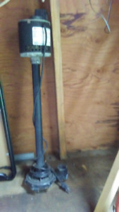 SUMP PUMP, GE, 1/4 HP