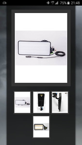 18″  HD PDR LIGHT WITH DIMMER BATTERY ON BOARD KIT (x2)