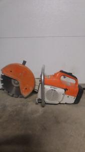 """12"""" STIHL TS400 Concrete Saw"""