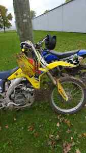 2007 suzuki rmz 450 4 speed (fully rebuilt 11 hours)