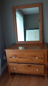 Solid pine dresser and Mirror
