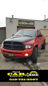 2003 Dodge Power Ram 1500 ST Pickup Truck - LIFTED !