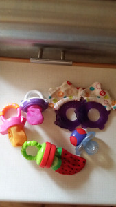 Lot  of teethers