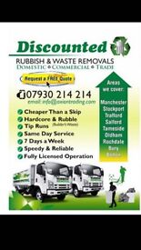 Rubbish removal Fully Licensed 07930 214 214