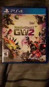 I have Plants vs Zombies GW2 in mint condition for sale or trade