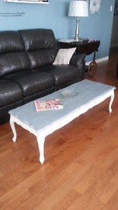 Coffee table/ solid wood / refinished
