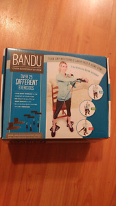 Bandu (Brand new 4 resistance band pack)