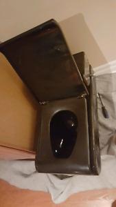 Black Custom Toilet from Spain