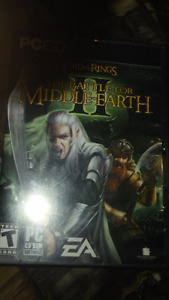 Lord of the Rings - Battle for middle earth