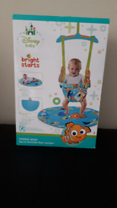 NEW!!! Disney Baby FINDING NEMO Sea of Activities Door Jumper