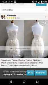 Etsy champagne dress Windsor Region Ontario image 1