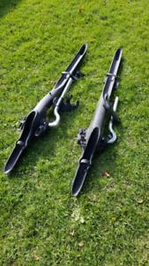 Volkswagen roof bike rack attachments.