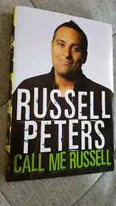 Russell Peters: Call Me Russell Hardcover Book, Like New