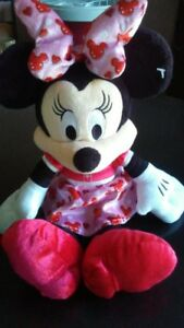Minnie Mouse wearing Mickey Dress