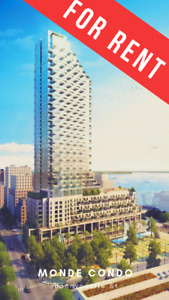 Downtown Waterfront Condo For Rent at Monde - Bonnycastle St