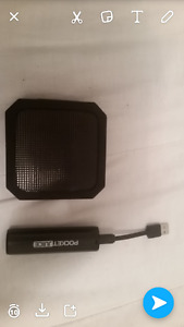 Portable charger and speaker