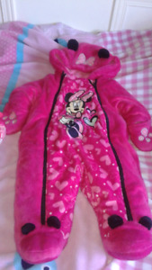 Ensemble Minnie Mouse automne, printemps