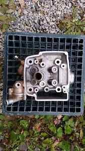 Head, valves, cover