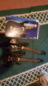 PS4 Guitar Hero Live controllers