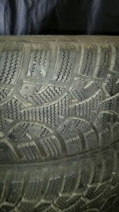 3 sets of gently used tires on rims