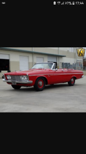 Urgent plymouth fury 1963