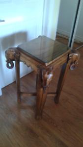 table éléphant