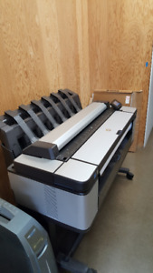 HP T3500PS Designjet Printer - Used