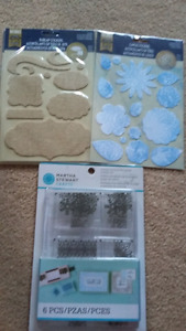 Scrapbooking Stamps and cloth accents