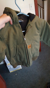 Boys size 4-5 carhartt coat