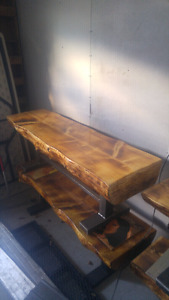 Timber & Steel Benches