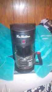 Tim Horton's Coffee Maker - only six months old   Rarely Used