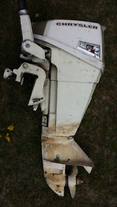 6.6 Chrysler outboard $250  for parts