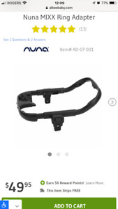 ISO nuna pipa ring adapter for nuna mixx stroller