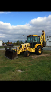 2001 New Holland Backhoe