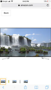 Samsung 75 inch LED TV