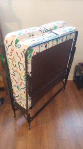 Roll-a-Way Cot for Sale!