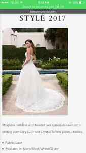 Ivory Wedding dress (ball gown style tool and lace)