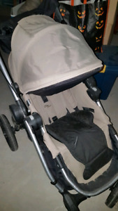 Double Stroller Baby Jogger City select seat and second