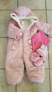 Girl Snow Suit from The Children's Place (Size 18mo)