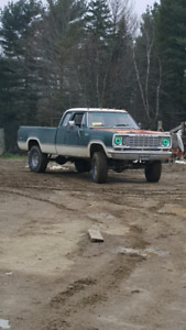 1974 power wagon 4x4 4spd 360 lifted