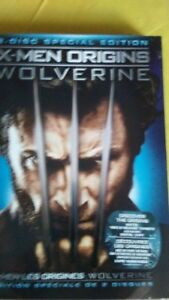 Movies X-Men and Wolverine DVD's