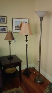 Floor Lamps and Buffet Lamp