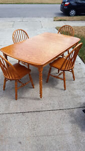 DINING SET AND VARIOUS CHAIRS FOR SALE Kitchener / Waterloo Kitchener Area image 1