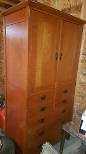 $100 OBO * Large solid wood armoire/TV stand