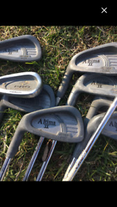Set of irons plus pw