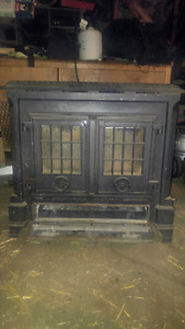 Coalbrookdale Darby cast iron stove