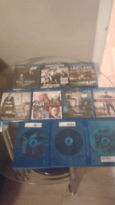 10 Blu ray disks all work