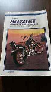 Clymer service manual for Suzuki Intruder