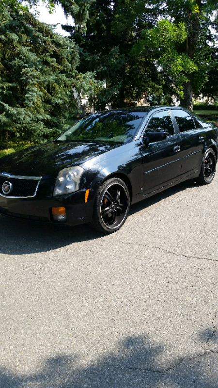 Cadillac cts black on black cars trucks calgary kijiji carproof report buy report condition used year 2006 make cadillac model cts colour black publicscrutiny Image collections